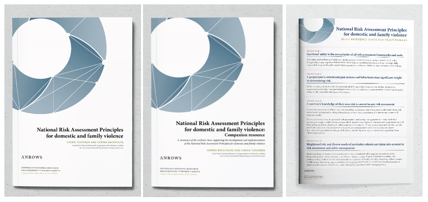 National Risk Assessment Principles Covers