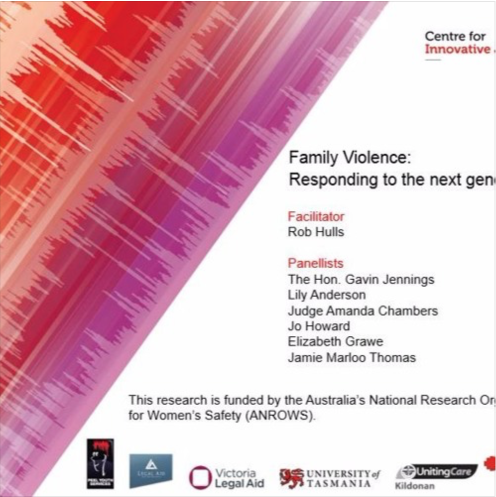 Podcast: Family violence: Responding to the next generation Melbourne Forum