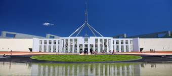 Photo of Australian Parliament House