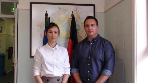 Dr Anna Olsen and Dr Ray Lovett