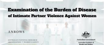 Burden of Disease of Intimate Partner Violence Against Women event banner