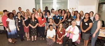 Participants at the Action Research Support Workshop 2 in Brisbane