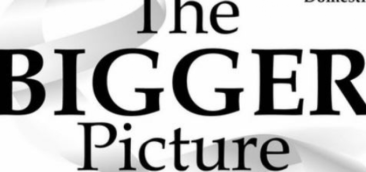 The Bigger Picture conference page header