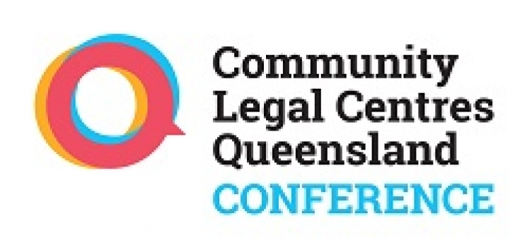 Community Legal Centres Qld conference logo