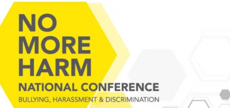 geometric images as conference logo